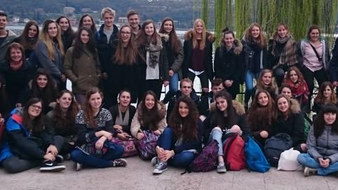 Schüleraustausch Italien Gruppenbild